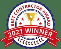 2021 Best Contractor Award