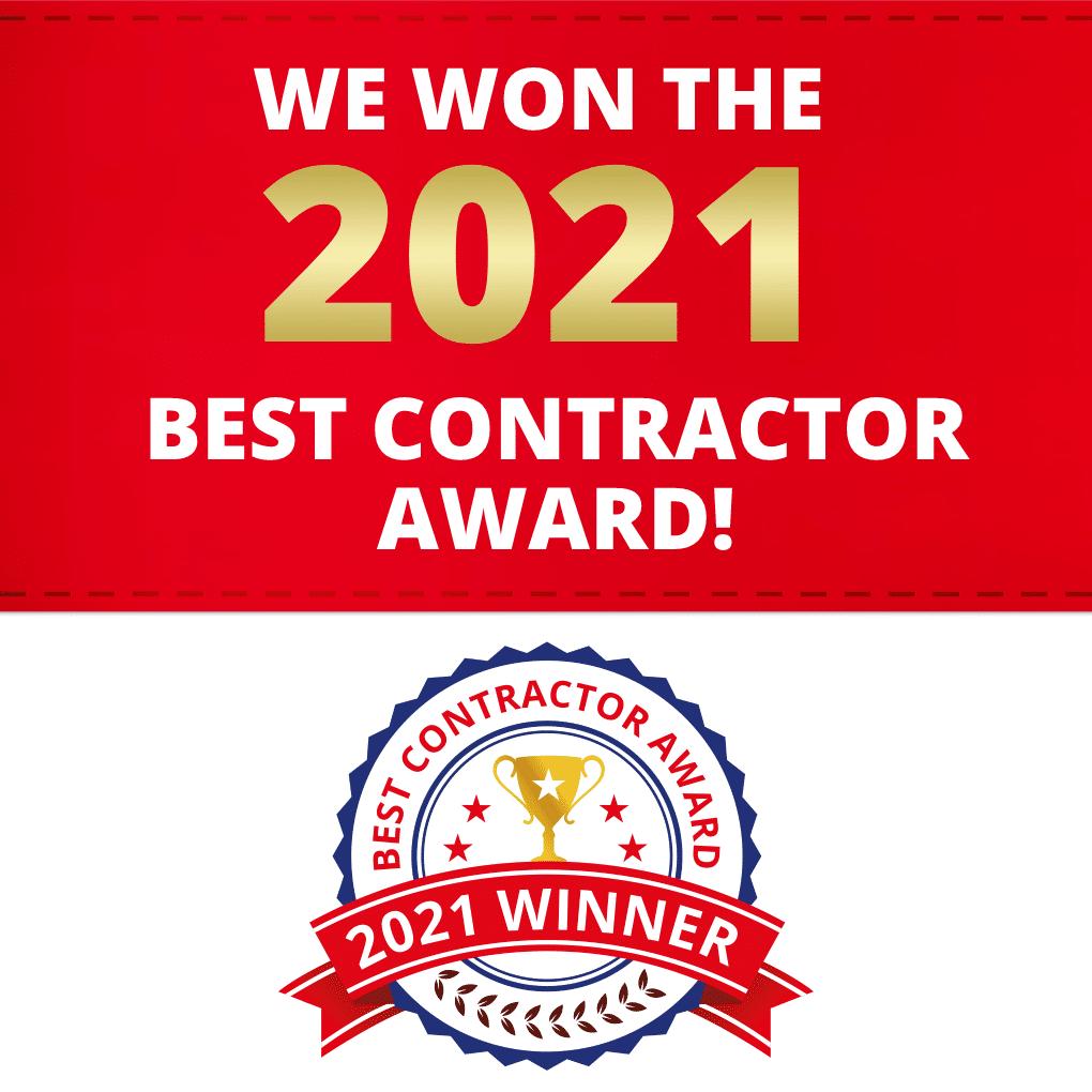 Best Contractor Award 2021