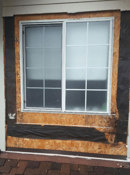siding or windows replaced