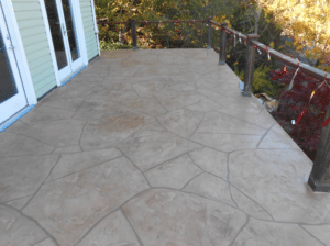 Flagstone_Pattern_Finish_Suede_Color_Wash_with_Brown_Grout
