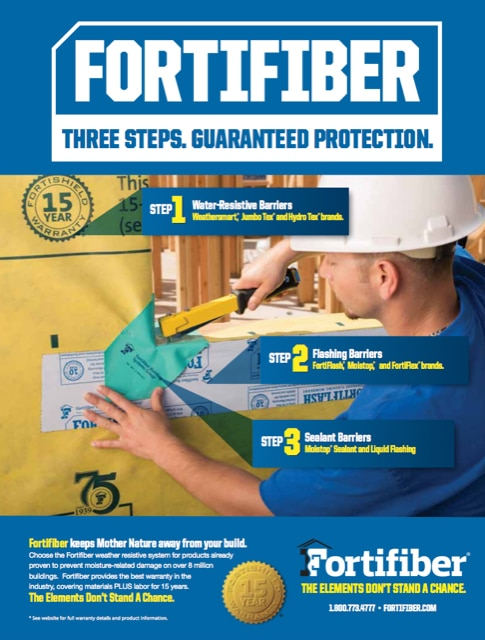 Fortifiber Weatherproofing Products