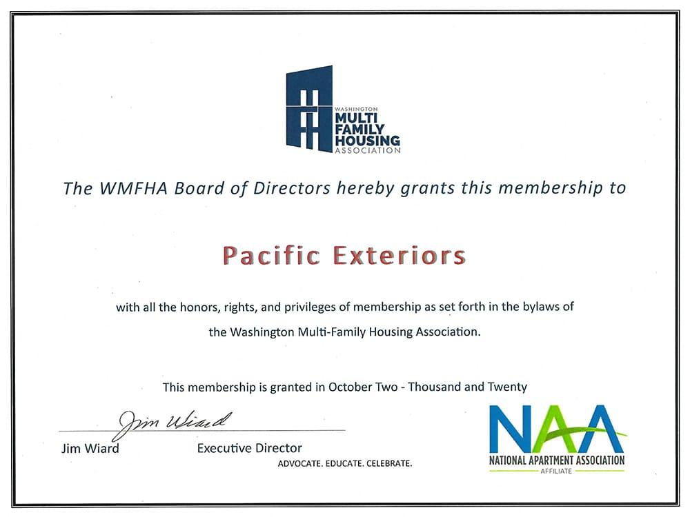 NAA 2021 WMFHA Membership