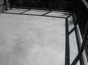 Skip Trowel Finish Charcoal Color Wash