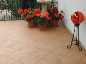 Tile Pattern Finish Arroyo Color Wash with Tan Grout