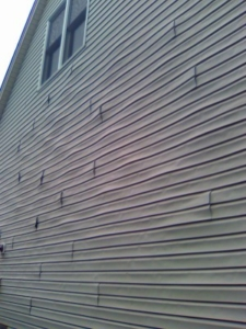Defective Siding