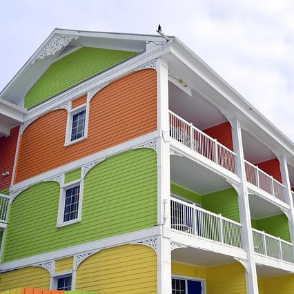 Apartment Siding Installation